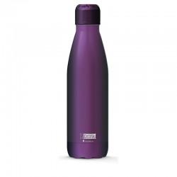 Παγούρι - Θερμός ανοξείδωτο i DRINK ID0023 THERM BOTTLE 500ml MATTE PURPLE 139000023