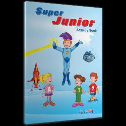 ACTIVITY BOOK + STICKERS Super JUNIOR (PRE JUNIOR)